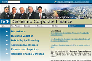 Joseph Decosimo Corporate Finance